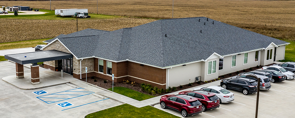 OSF Healthcare Medical Office built by Homeway Commercial in Dwight, IL